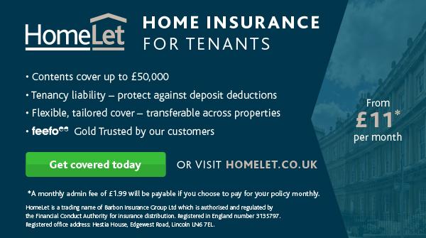 Homelet Tenants Insurance